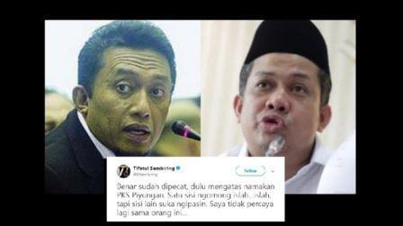 Tifatul Sembiring, @maspiyuu dan Fahri Hamzah Saling Serang di Twitter