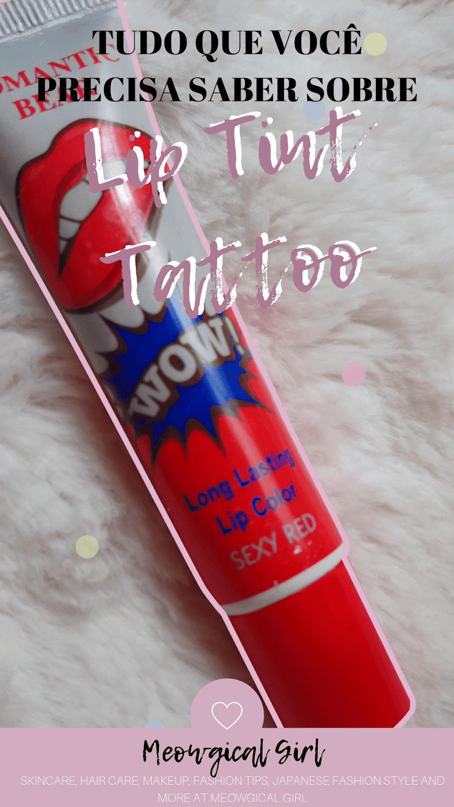 Batom Tatuagem