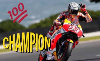 Juara MotoGP Jepang, Marquez Kunci Gelar Juara Dunia  2018