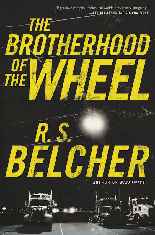 Cover Revealed - King of the Road by R. S. Belcher