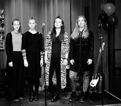 Sanna, Linda, Pernilla och Viktoria
