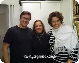 Foto minha com o casal Suzy Rêgo e Fernando Vieira