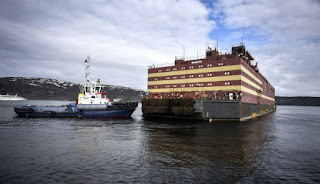 1st floating nuclear power plant unveiled by Russia