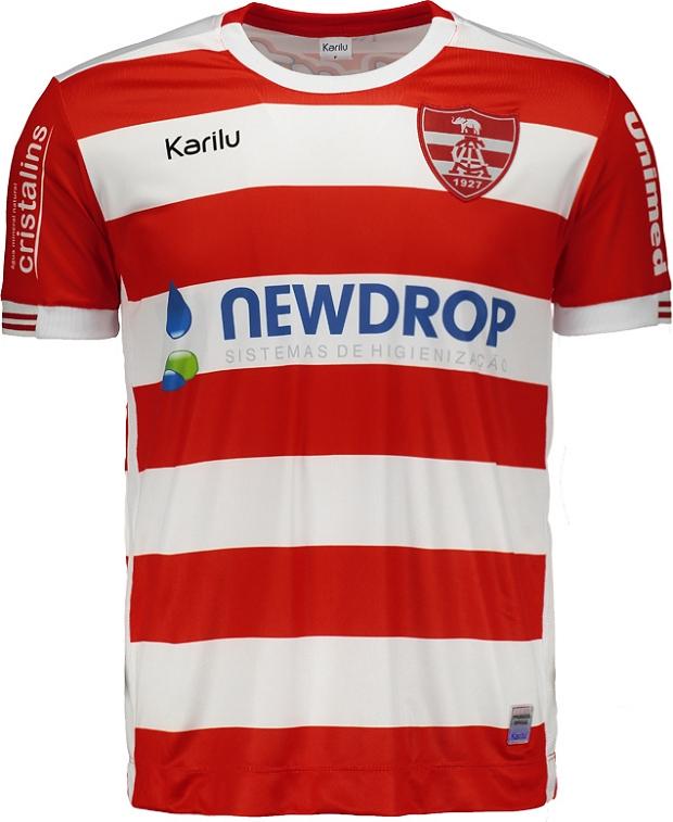 b0accd75db Karilu divulga a nova camisa titular do Linense - Show de Camisas