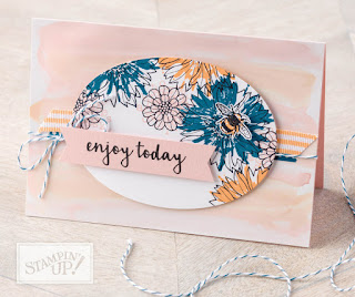 Stampin' Up Touches of Texture Card
