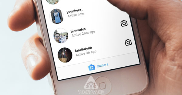 Cara Menyembunyikan Status Aktif di Instagram Direct Message