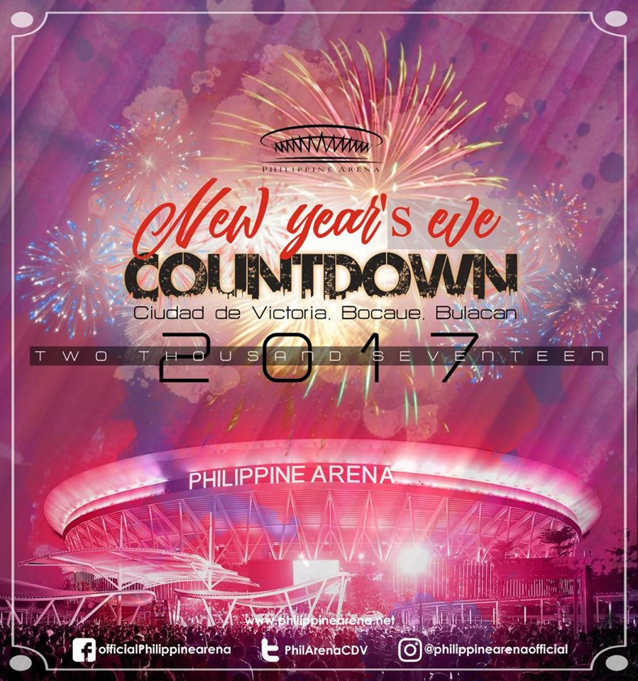 Philippine Arena New Year's Eve Countdown 2017