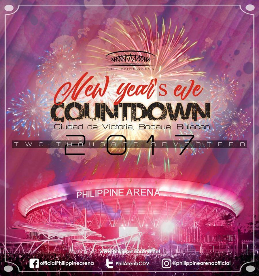 Philippine Arena New Year's Eve Countdown 2017