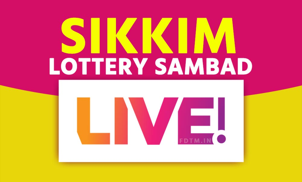 Sikkim State Live Lottery Results Video