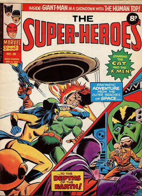 Marvel UK, the Super-Heroes #36, the Cat