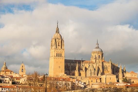 Salamanca desde el puente Romano