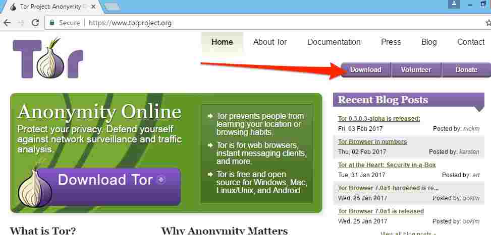 Tor-Browser-Site