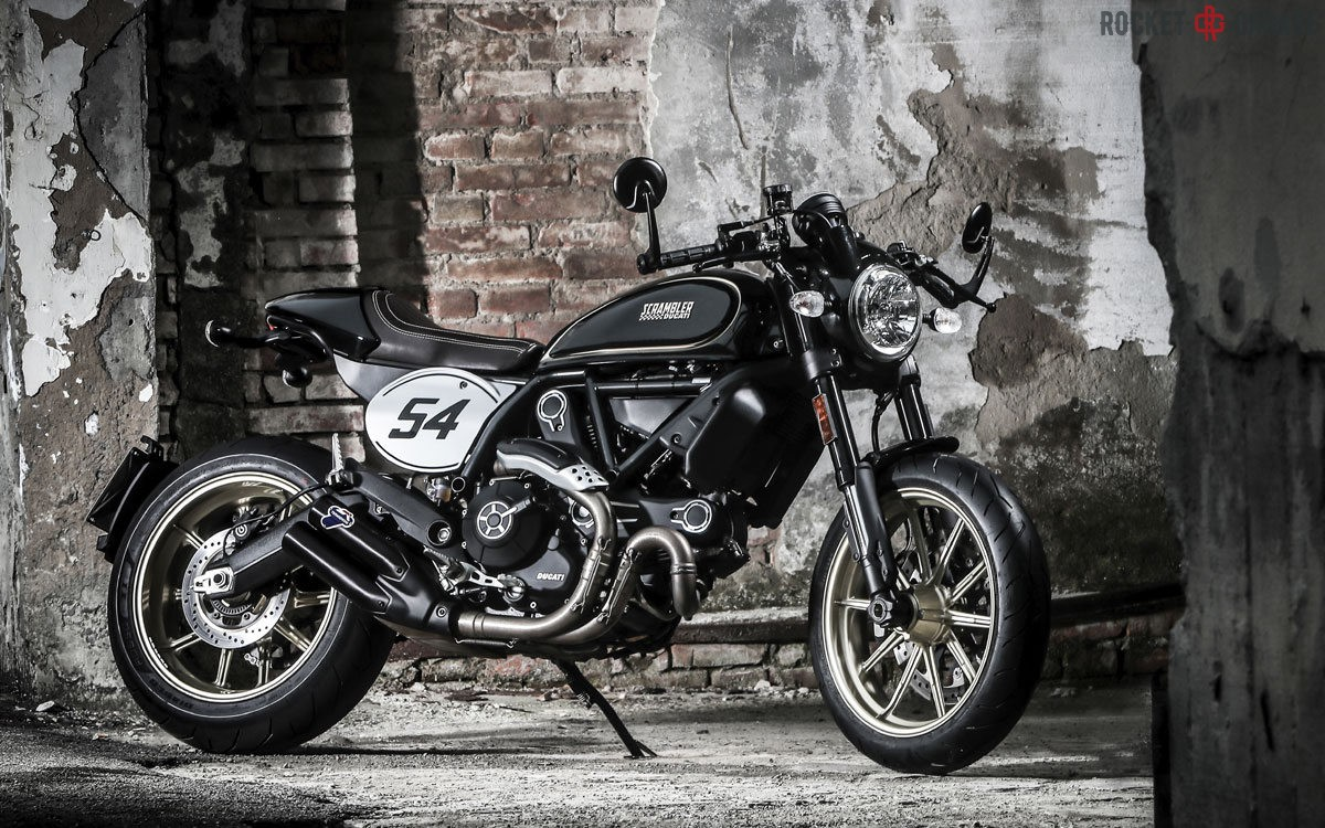 scrambler cafe racer first ride rocketgarage cafe racer magazine. Black Bedroom Furniture Sets. Home Design Ideas