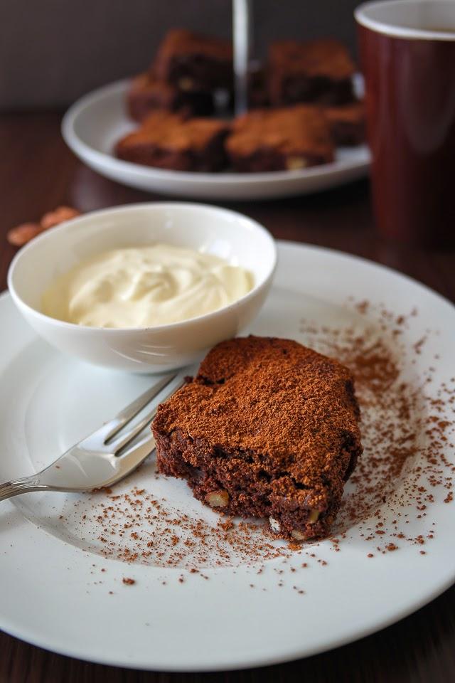 Brownies mit Pekannüssen