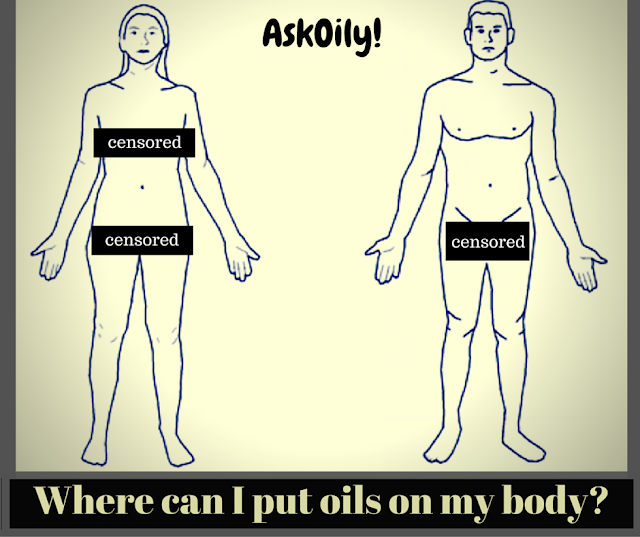 Where you shouldn't put essential oils on your body | Hot Pink Crunch