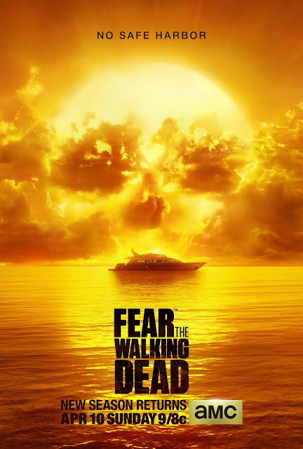 Fear the Walking Dead Season 2 Artwork No Safe Harbour Poster
