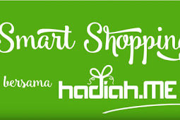 Smart Shopping with Hadiah.ME, bagi-bagi Voucher Diskon Lho!