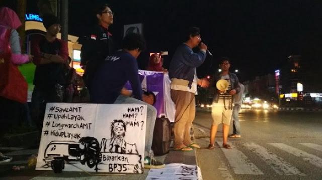 Ribuan Demonstran SP-AMT Akan Bersujud Di Depan Hotel Debat Capres