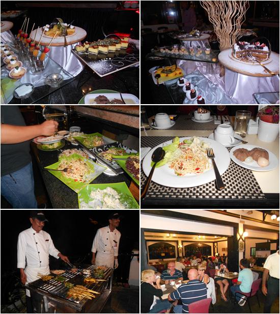 Makan malam di Strawberry Park Resort