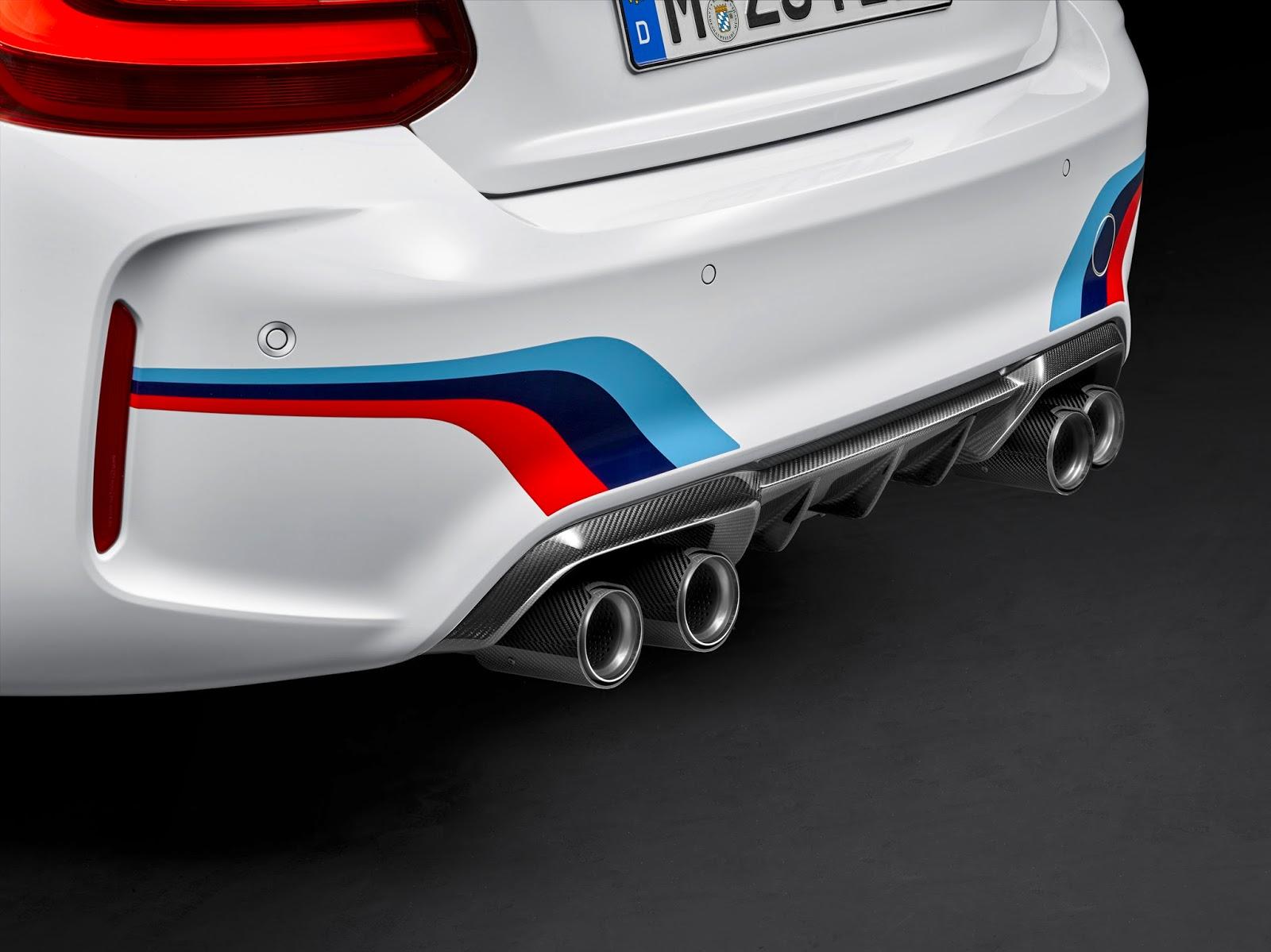 P90203605 highRes bmw m2 coup with bmw Νέα Αξεσουάρ M Performance για τη νέα BMW M2 Coupé. BMW, BMW M2, BMW M2 Coupé, Αξεσουάρ