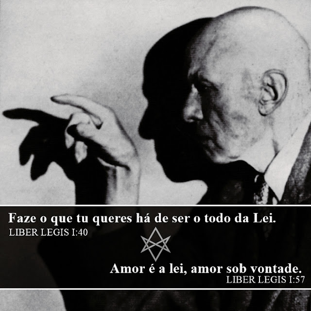 Lei de Thelema, Alesteir Crowley