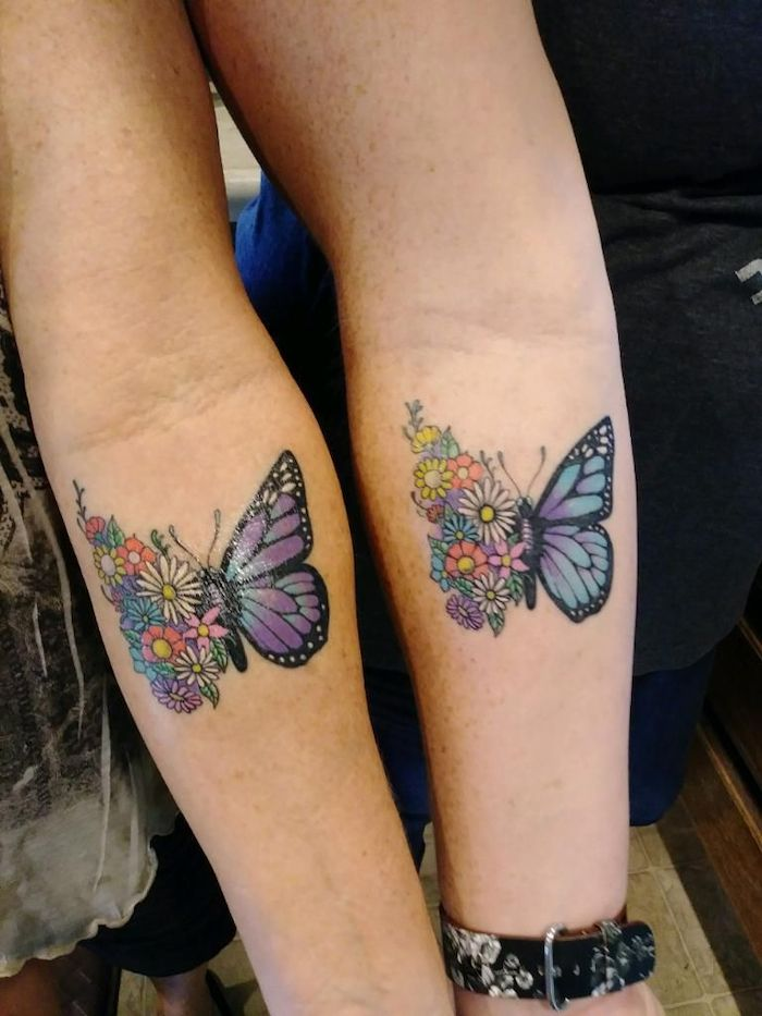 200+ Matching Mother and Daughter Tattoo Ideas (2019 ...