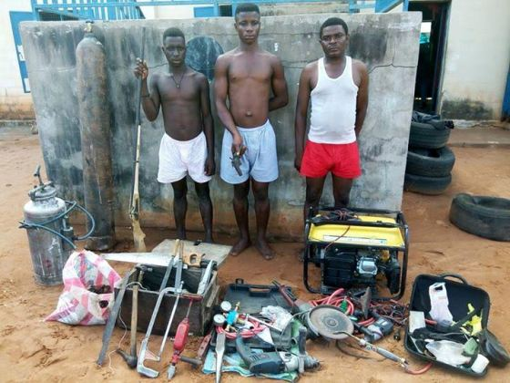 AT LAST! Firearms Manufacturing Factory Uncovered In Benue State [Photo]