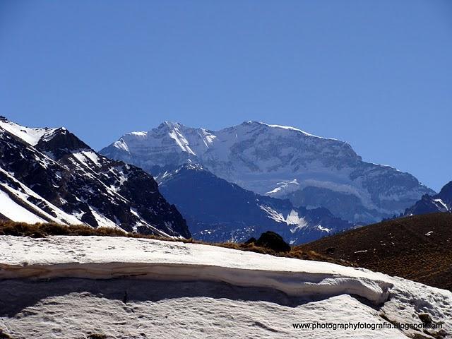 Monte Aconcágua, a 2ª mais alta do mundo, com 6 962 m  | Meu