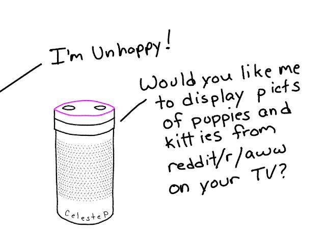 Unhappy, amusedbits, cartoon, celeste, possessed,