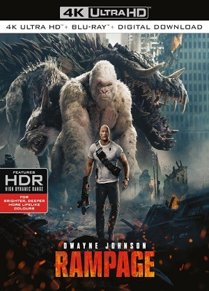 Filme Rampage - Destruição Total 4K Ultra HD 2018 Torrent