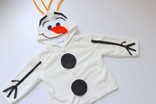 Disfraz de muñeco de nieve Olaf