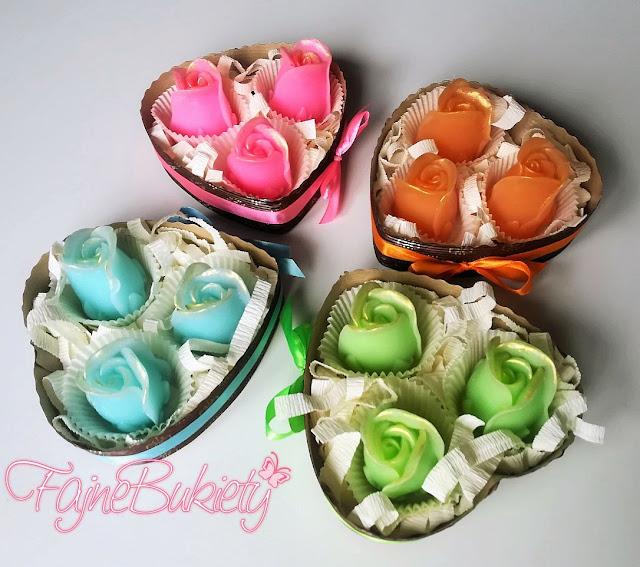 Pachnące mydełka ręcznie robione na prezent