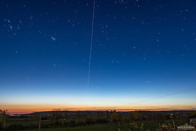 Passage de la Station Spatiale Internationale - ISS