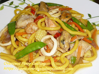 Seafood Hokien Noodles Stirfry Recipe