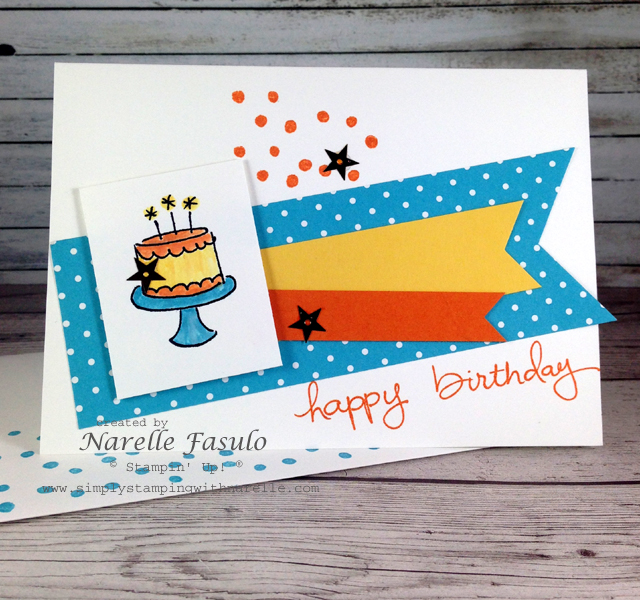 Endless Birthday Wishes - Narelle Fasulo - Simply Stamping with Narelle
