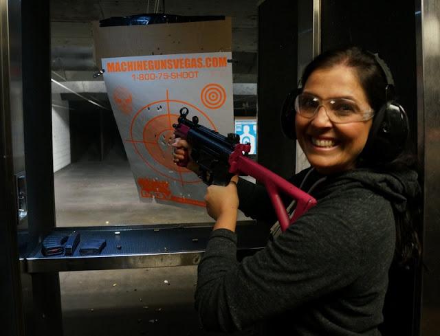 Machine Guns Vegas (MGV): como foi a nossa experiência num stand de tiro em Las Vegas