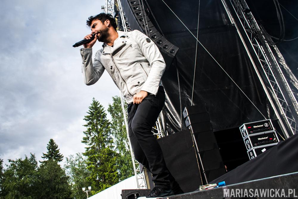 Franky Perez Apocalyptica Provinssi Festivaali 2015 Seinäjoki