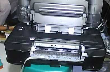 Cara memperbaiki printer canon ip2770 tinta hitam putus putus