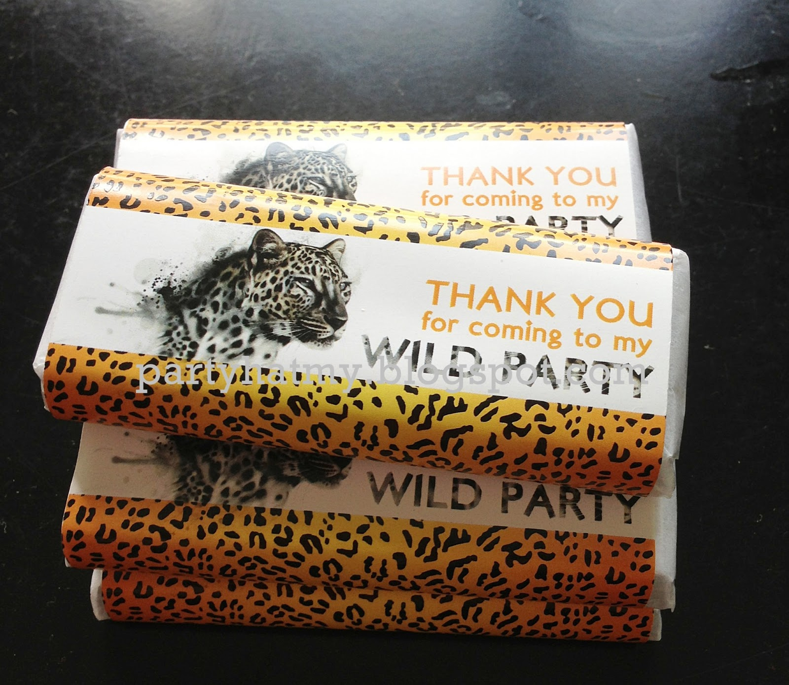Party Hat Chocolate Wrapper