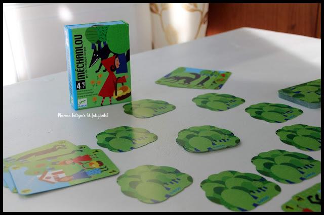 méchanlou djeco jeu cartes