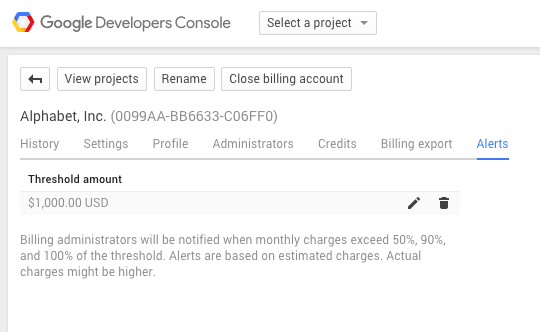 Alerts Costs Cloud Billing Google Keep With Blog Of Track Platform Your