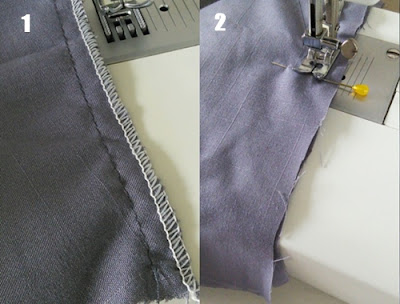 cara membuat pola baju koko