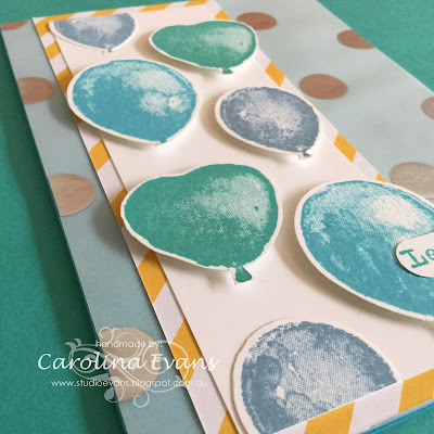 Carolina Evans Stampin' Up! Let's Party with Balloons