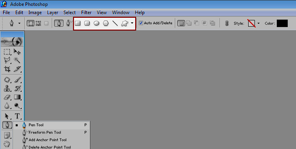 How To Use Pen Tool Polygonal Lasso Tool Photoshop 7.0 In Hindi