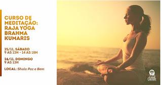 Curso de meditação Raja Yoga - Brahma Kumaris