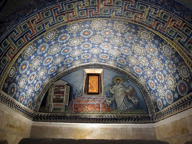 Mausoléu Gala Placídia em Ravena