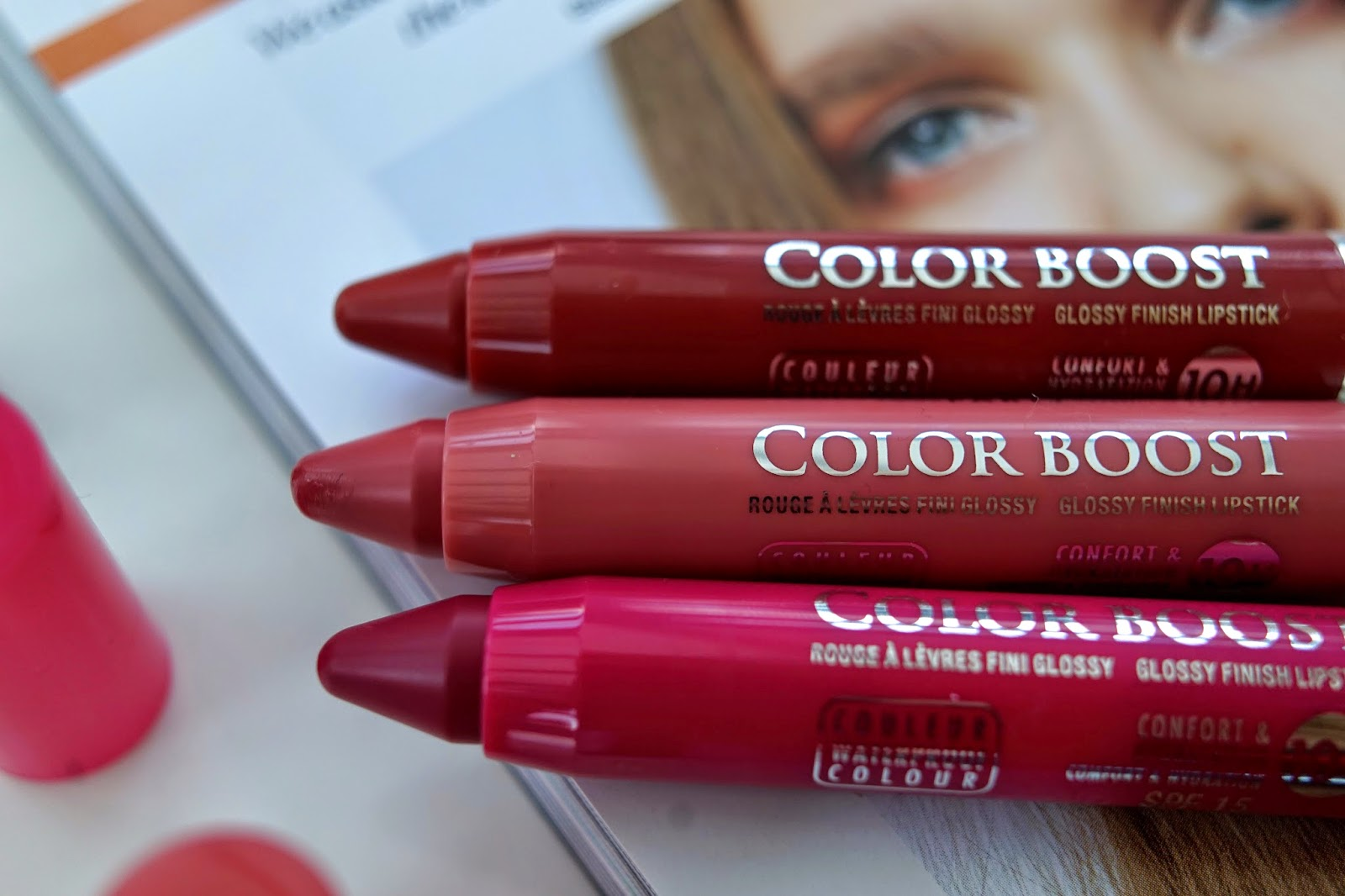 bourjois color boost lipsticks