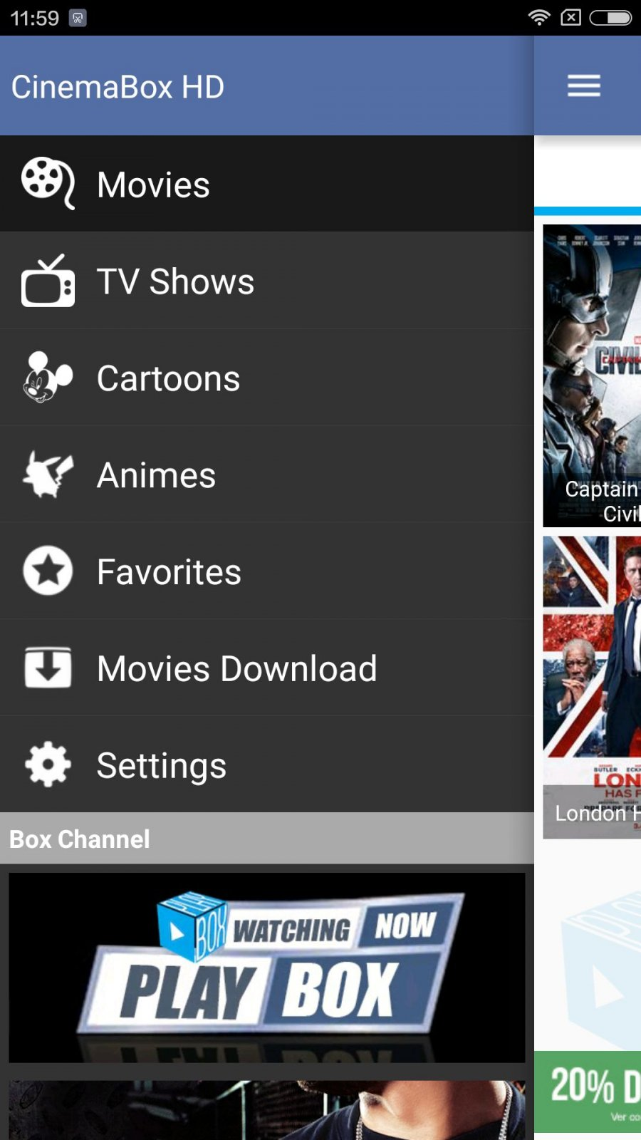 CinemaBox Apk For Android - Approm.org MOD Free Full Download Unlimited Money Gold Unlocked All