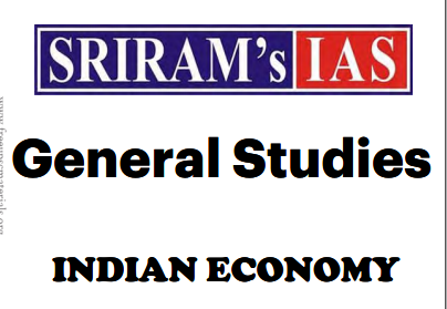 Indian Economy GS by SriRam IAS pdf notes Download - SscTyari
