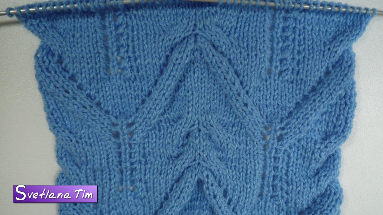 Прибавление петель при вязании спицами: урок для